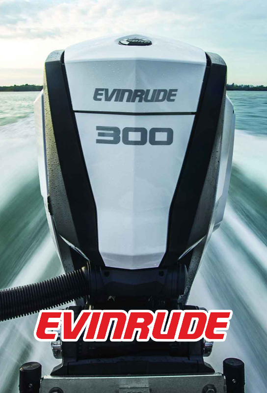 Evinrude E-TEC Direct Injection engines are not only cleaner, but has all the best qualities of a four-stroke.