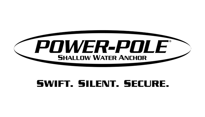 Power Pole, a shallow water anchoring system for all small skiffs, bass boats, flats boats and bay boats.